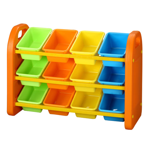 12 Bin Storage Organiser - Childrens Funky Furniture