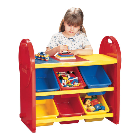 6 Bin Storage Organiser - Childrens Funky Furniture