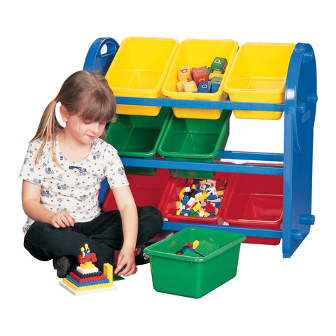 9 Bin Storage Organiser - Childrens Funky Furniture