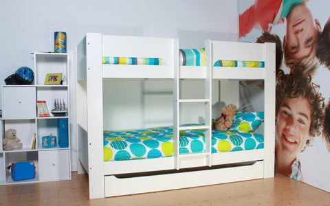 Flexa Heidi Bunk Bed - Childrens Funky Furniture - 1