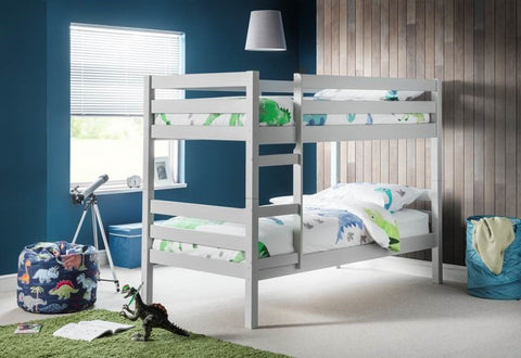Camden Bunk Bed by Julian Bowen- Dove Grey