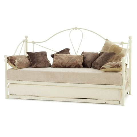 Lyon Day Bed / Guest Bed in Ivory - Childrens Funky Furniture