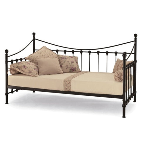 Marseilles Day Bed In Black - Childrens Funky Furniture