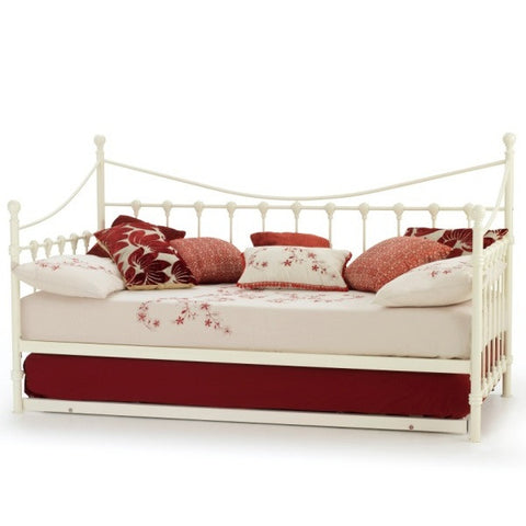 Marseilles Day / Guest Bed Ivory - Childrens Funky Furniture - 1