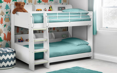 Julian Bowen Domino Bunk Bed - White