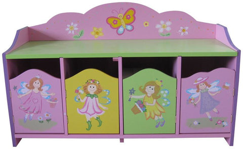 Fairy 4 Door Cabinet - Childrens Funky Furniture