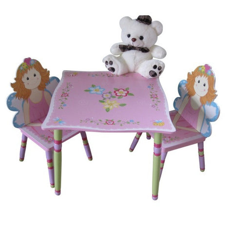 Fairy Table 2 Chair Set - Childrens Funky Furniture