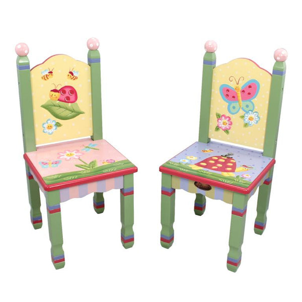 Magic Garden Table And Chair Set: Magic Garden Table And Two Chair Set