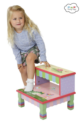 Magic Garden Step Stool - Childrens Funky Furniture - 1