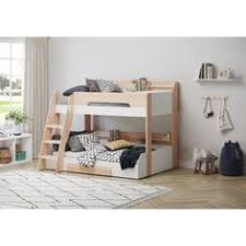 Flair Flick Triple Bunk Bed in Oak