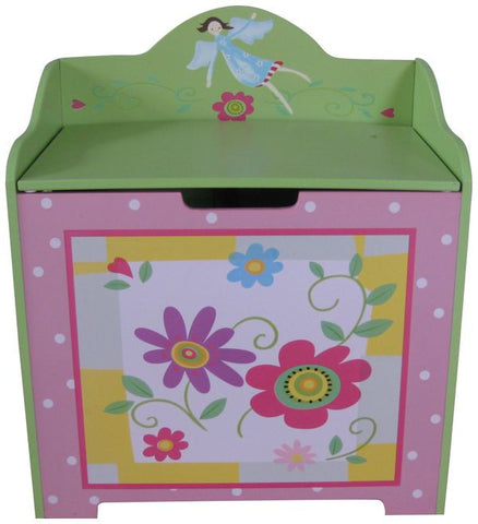Flower Toy Chest - Childrens Funky Furniture