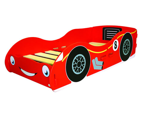 Kidsaw Racing Car Junior Bed - Childrens Funky Furniture