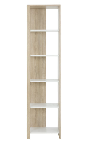 Gami Kylian Bookcase with 5 Shelves
