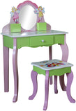 Butterfly Dressing Table And Stool - Childrens Funky Furniture - 2