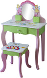 Butterfly Dressing Table And Stool - Childrens Funky Furniture - 1