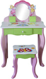 Butterfly Dressing Table And Stool - Childrens Funky Furniture - 3
