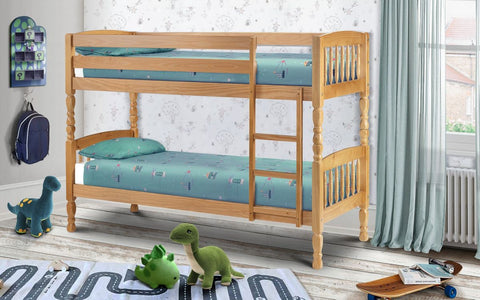 Julian Bowen Lincoln Bunk Bed 90cm