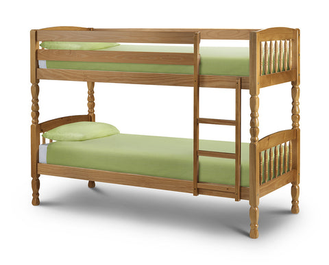 Julian Bowen Lincoln Bunk Bed - Childrens Funky Furniture