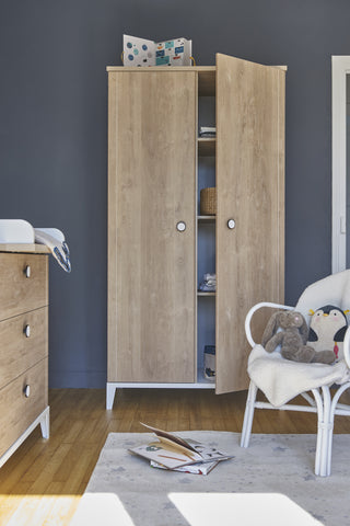 Galipette Marcel 2 Door Wardrobe