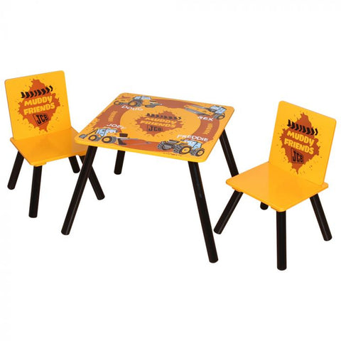 Kidsaw JCB Muddy Friends Table & Chairs