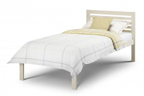 Julian Bowen Slocum Bed - Stone White - Childrens Funky Furniture