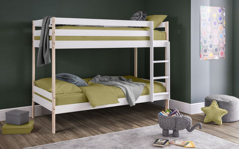 Julian Bowen Nova Bunk Bed Two Tone