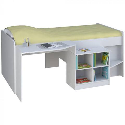 Kidsaw Pilot Captains Bed- White