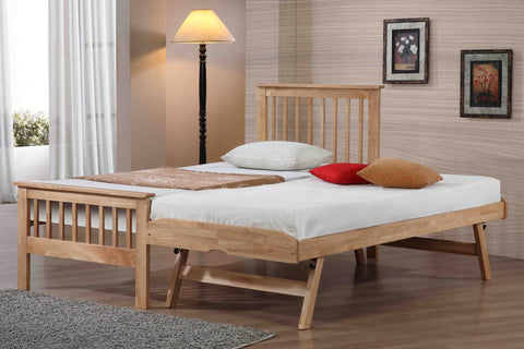 Pentre Guest Bed In Oak Finish - Childrens Funky Furniture