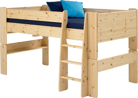 Steens for Kids Natural Pine Lacquer Midsleeper