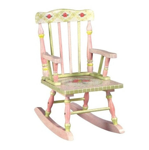 Pink Crackle Rocking Chair - Childrens Funky Furniture