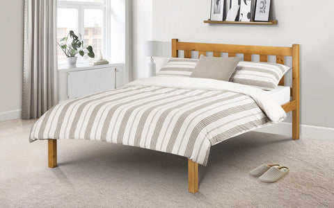 Julian Bowen Poppy Single or Double Bed - Pine