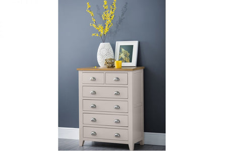 Julian Bowen Richmond 4+2 Drawer Chest
