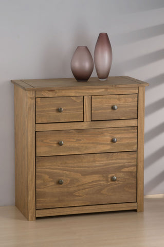 Birlea Santiago 2+2 Drawer Chest