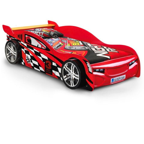 Julian Bowen Car Racer Bed - Childrens Funky Furniture