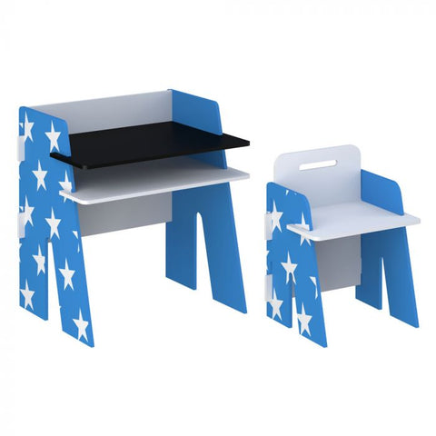 Kidsaw Star Desk&Chair Blue