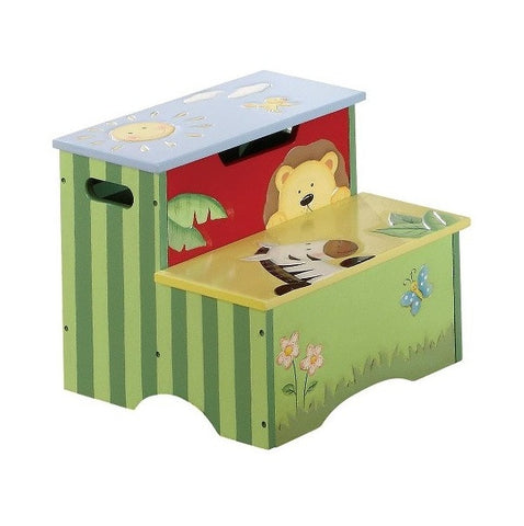 Sunny Safari Step Stool - Childrens Funky Furniture