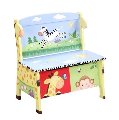 Sunny Safari Storage Bench - Childrens Funky Furniture