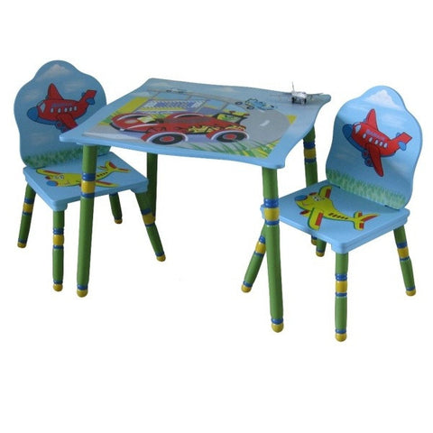 Transport Table 2 Chair Set - Childrens Funky Furniture