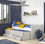 Gami UGO Moon Grey Compact Bed
