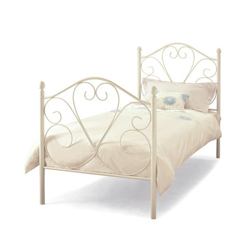 Isabelle White Bed - Childrens Funky Furniture