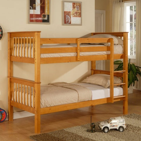 Pavo Pine Bunk Bed - Childrens Funky Furniture