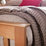 Windsor Oak Bed- 5 Sizes