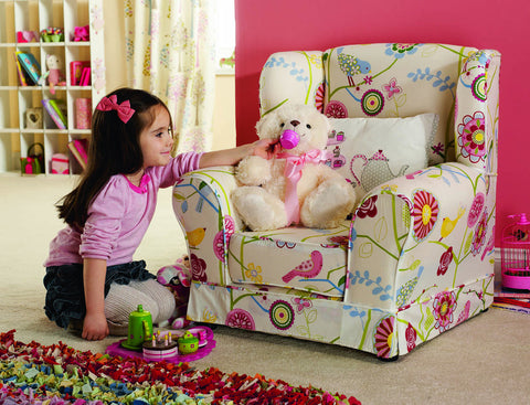 Wing Chair - Childrens Funky Furniture - 1