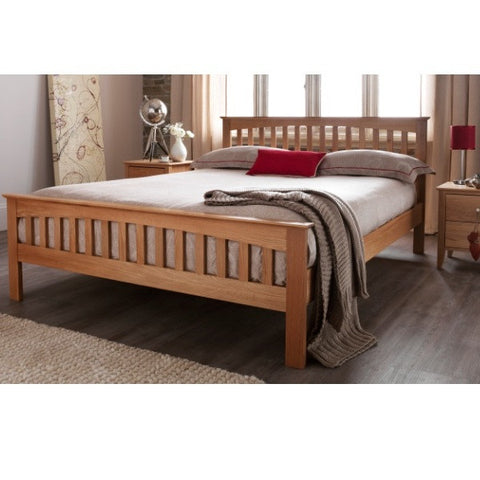 Windsor Oak Double Bed - Childrens Funky Furniture