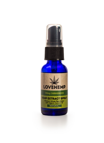 Love Hemp 200mg Hemp Oil CBD Spray