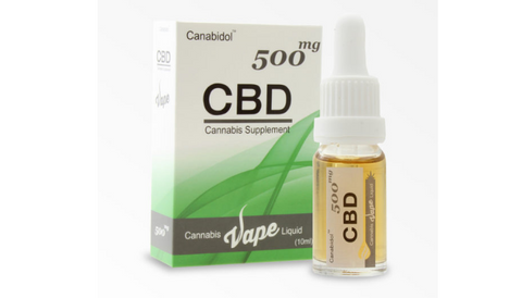 Canabidol™ Cannabis CBD Vape liquid (e juice) 500mg