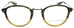Barton Perreira-Shulman-BKH/PEW . Designer eyeglasses handmade in Japanese acetate, available exclusively at Edward Beiner fine eyewear boutiques. Front view.