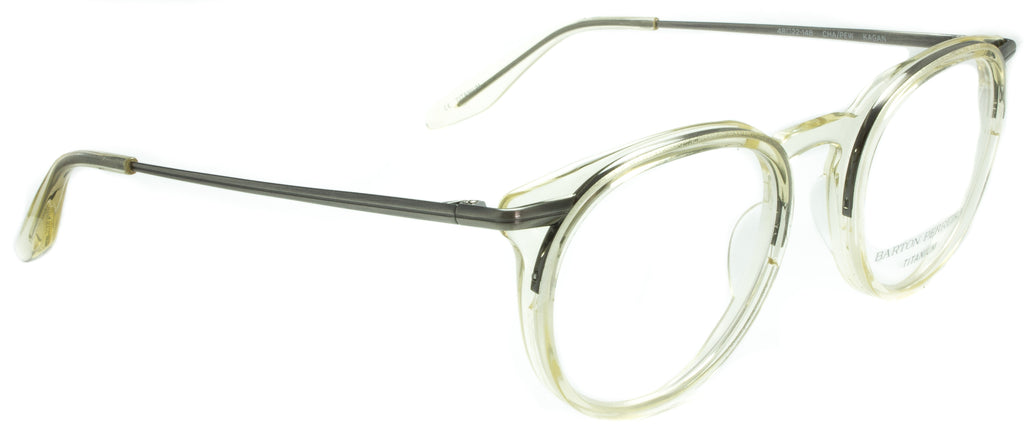 Barton Perreira Kagan-CHA/PEW . Side view. Designer eyewear available exclusively at Edward Beiner Boutiques.