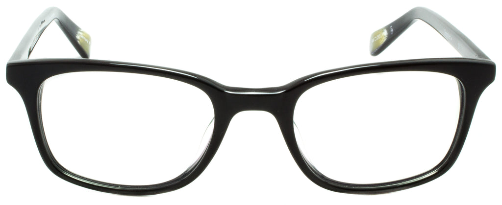 Edward Beiner Collection-Dogbert-999-01-Black Handmade in Germany by eyewear designer brand Edward Beiner, available exclusively at Edward Beiner Boutiques. Front view.