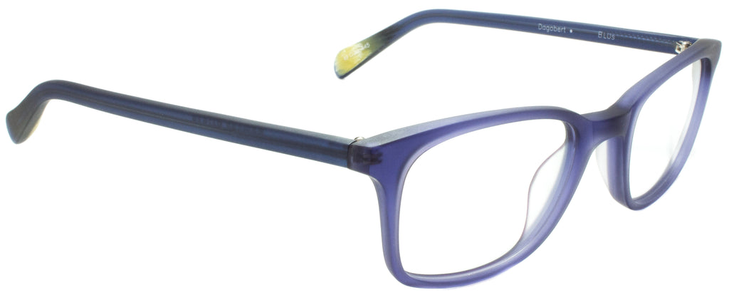 Edward Beiner Collection-Dogbert-999-BLUs - Matte Violette Handmade in Germany by designer sunglasses brand Edward Beiner, available exclusively at Edward Beiner Boutiques. Side view